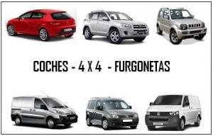 COCHES 4X4 FURGONETAS